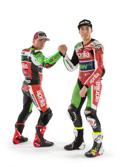 Aleix Espargaro, Sam Lowes, Aprilia Racing Team Gresini