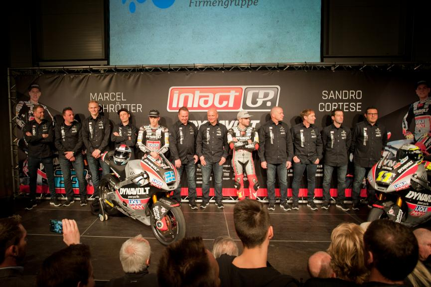 Dynavolt Intact GP Team Presentation