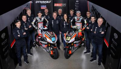 Dynavolt Intact GP ready for 2017