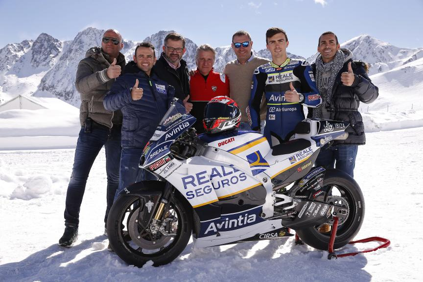 Reale Avintia Racing Launch