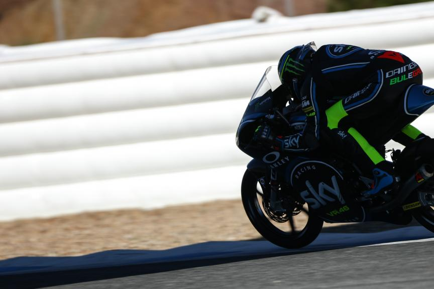 Nicolo Bulega, Sky Racing Team Vr46, Jerez Moto2™ - Moto3™ Official Test