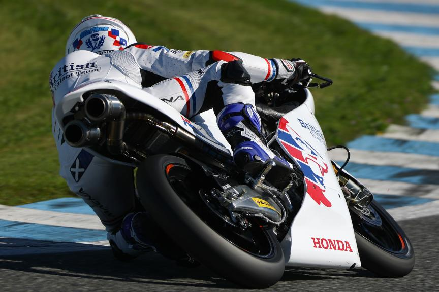 John Mcphee, British Talent Team, Jerez Moto2™ - Moto3™ Official Test