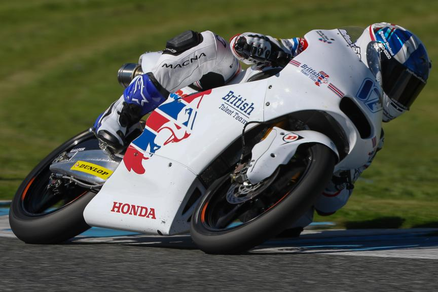 John Mcphee, British Talent Team, Jerez Moto2™ - Moto3™ Official Test