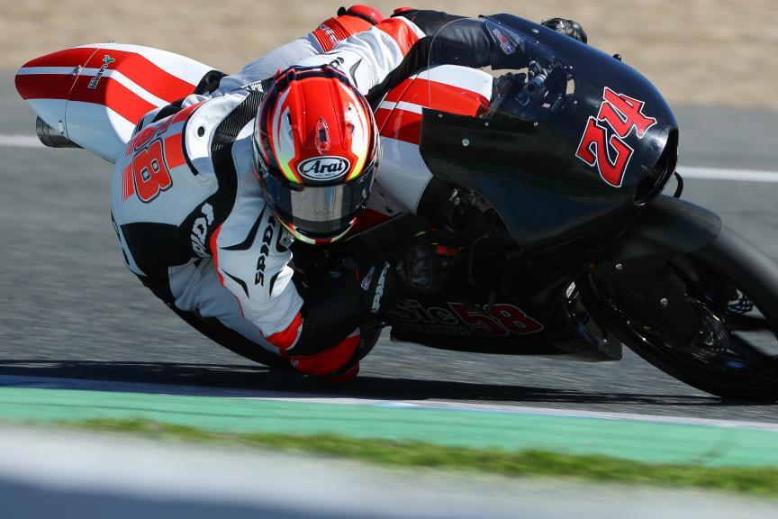 Tatsuki Suzuki, Sic58 Squadra Corse, Jerez Moto2™ - Moto3™ Official Test