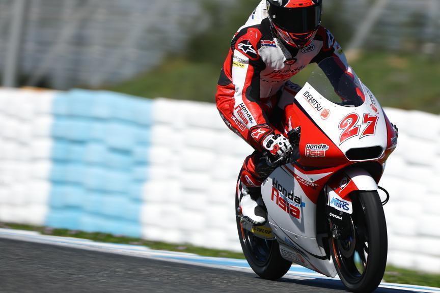 Kaito Toba, Honda Team Asia, Jerez Moto2™ - Moto3™ Official Test