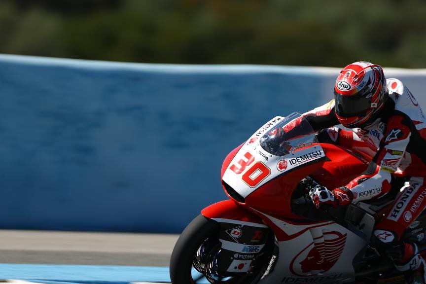 Takaaki Nakagami, Idemitsu Honda Team Asia, Jerez Moto2™ - Moto3™ Official Test