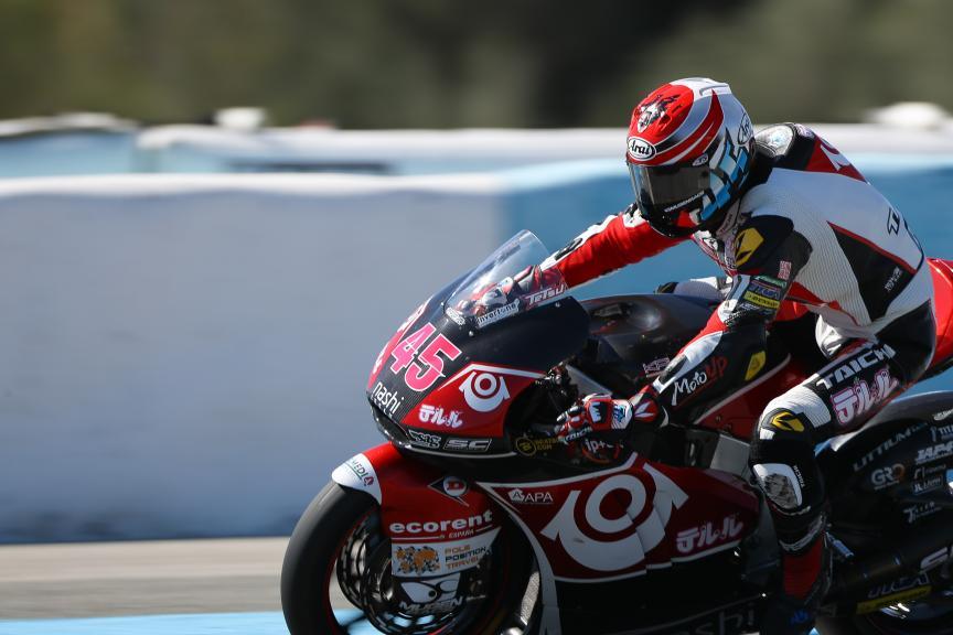 Tetsuta Nagashima, Teluru Sag Team, Moto2™ - Moto3™ Official Test