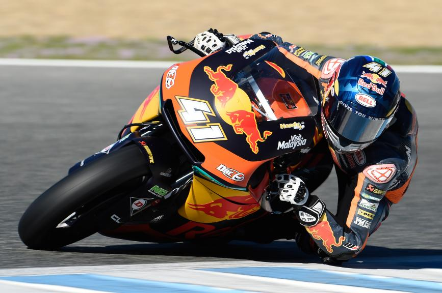 Brad Binder, Red Bull Ktm Ajo, Jerez Moto2™ - Moto3™ Official Test