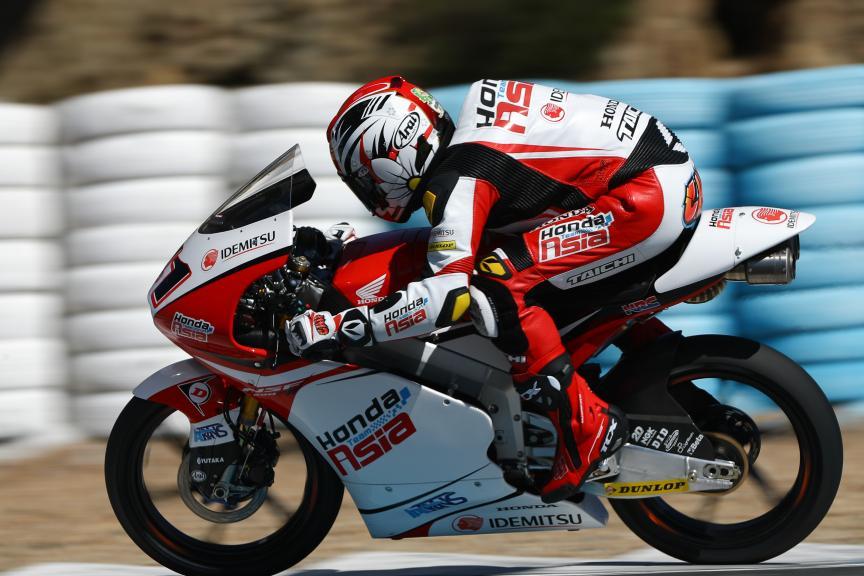 Nakarin Atiratphuvapat, Honda Team Asia, Jerez Moto2™ - Moto3™ Official Test