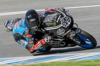 Canet beim ersten Offiziellen Moto3™ Test 2017 vorn