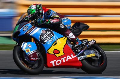 Moto2 Jerez: Morbidelli mit der Test-Bestzeit bislang