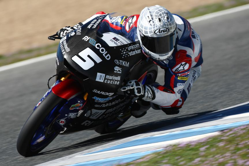 Romano Fenati, Marinelli Rivacold Snipers, Jerez Moto2™ - Moto3™ Official Test