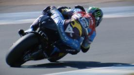 All the best action from the second day of the Official Test in Spain