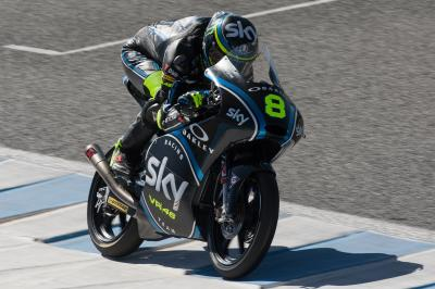 Moto3™ test ends with Bulega still on top