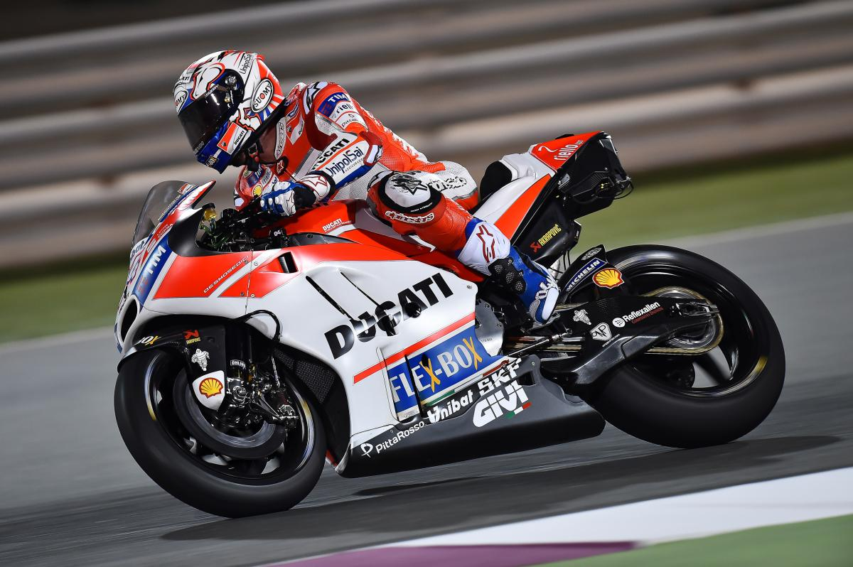 Dovizioso tops Day 1 in the desert | MotoGP™