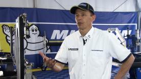 Nicolas Goubert erklärt, wie der offizielle Einheitsreifenlieferant Michelin den letzten Test der Saison angeht.