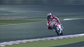 Andrea Dovizioso was the fastest rider on day 1 of the Qatar Official MotoGP Test