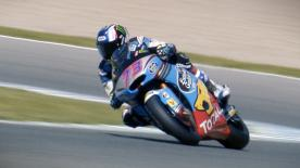All the best action from the final day of the Official Test in Spain