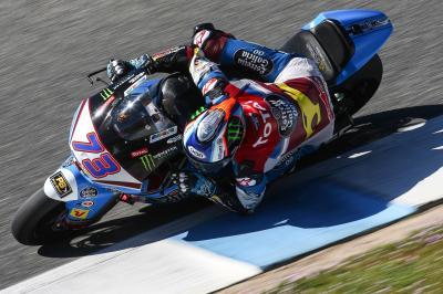 Alex Marquez below lap record as testing wraps up in Jerez
