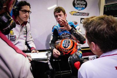 Debrief for @TitoRabat after his first run at the @MotoGP #qatartest https://t.co/LLKMHiJ2Ur