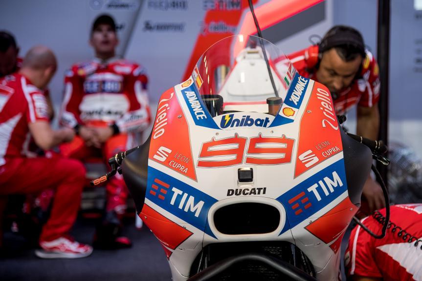 Jorge Lorenzo, Ducati Team, Qatar MotoGP™ Official Test