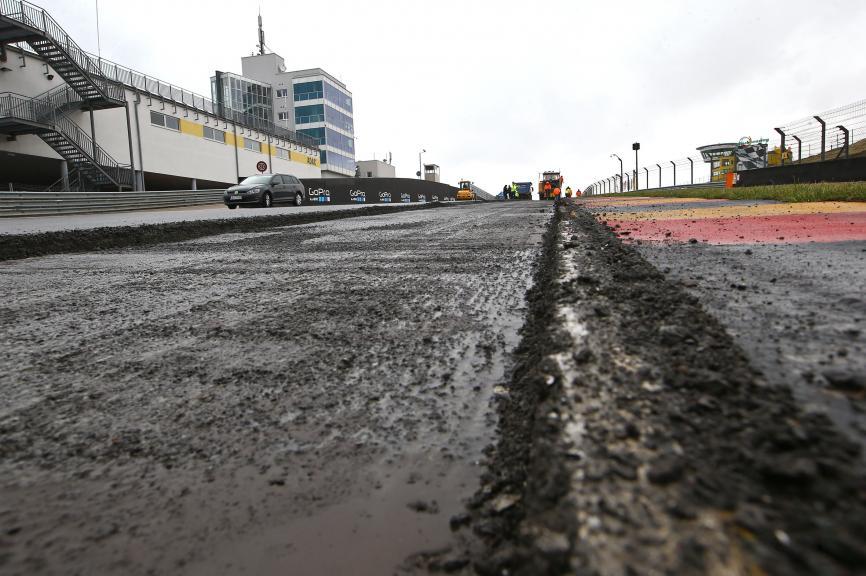 Sachsenring asphalt © Andreas Kretschel