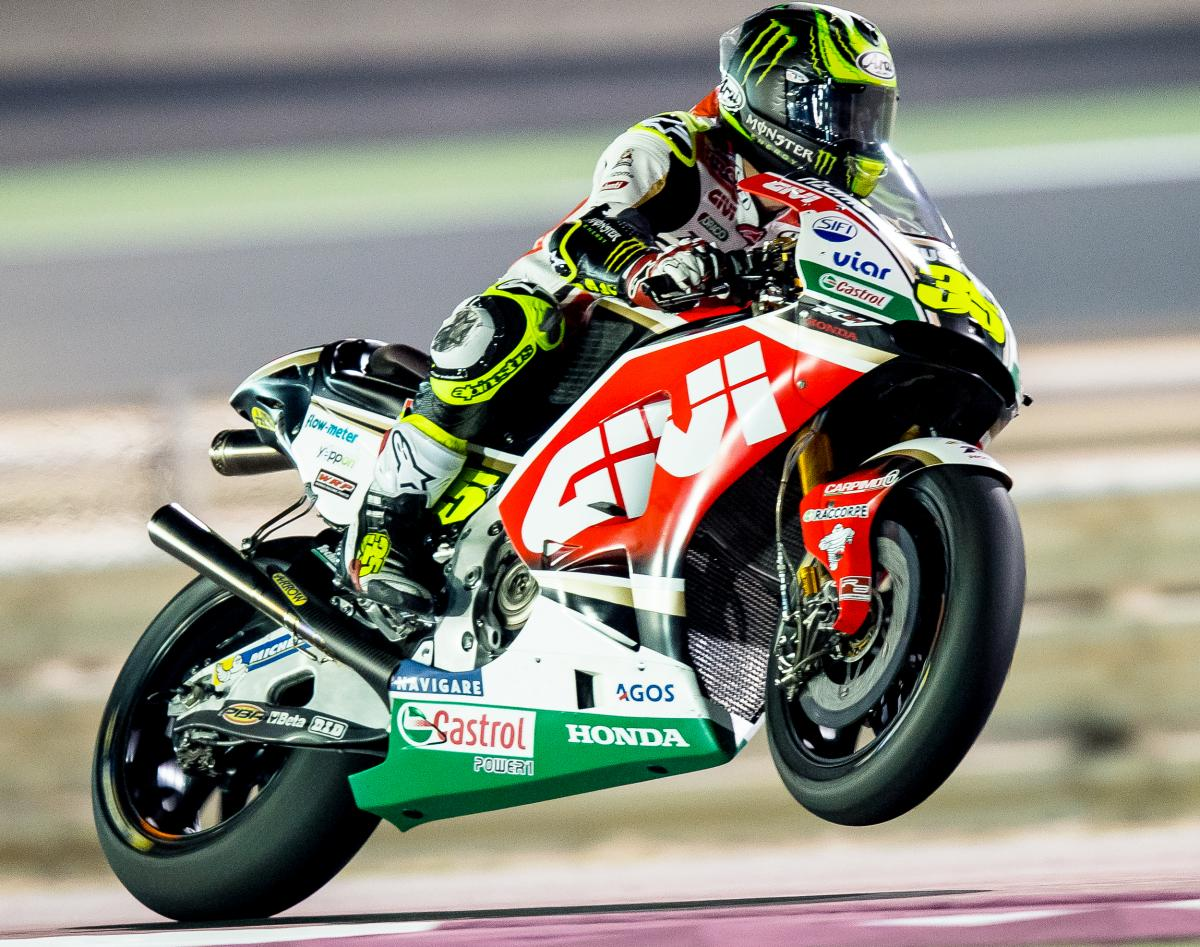 Crutchlow remains top Honda | MotoGP™
