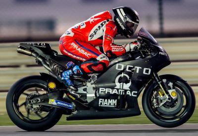 Redding: 'It feels like my bike again'