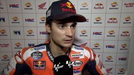 Dani Pedrosa was pleased with P3 on day 3 of the Qatar test but still expects to improve