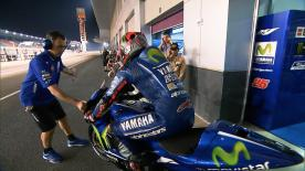 On the final test of the pre-season, Maverick Viñales was once again the fastest man on track
