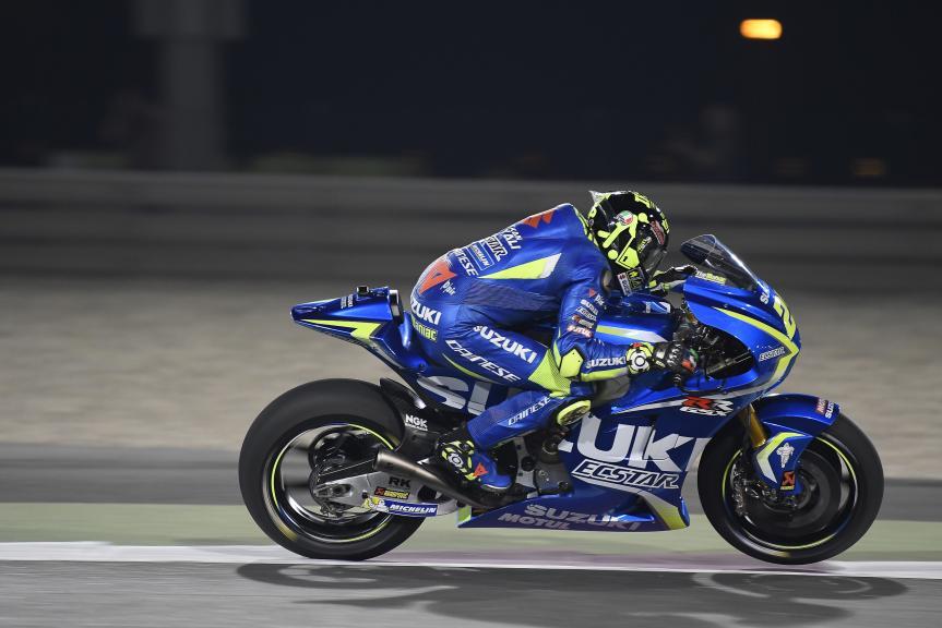 Andrea Iannone, Team Suzuki Ecstar, Qatar MotoGP™ Official Test