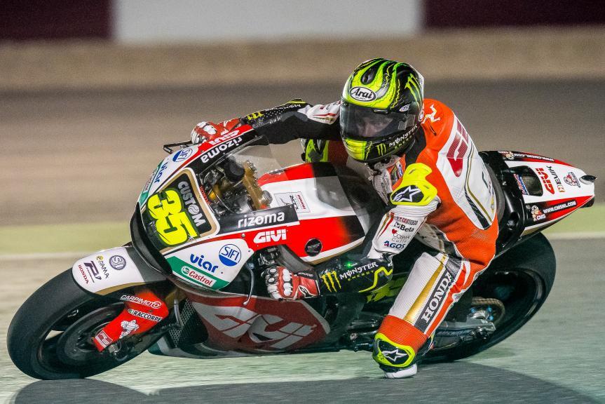 Cal Crutchlow, Lcr Honda, Qatar MotoGP™ Official Test