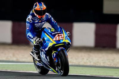 Rins satisfied ahead of rookie race debut