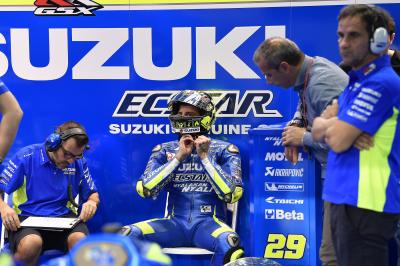 "Iannone: ""We've had a bolt of lightning!"""
