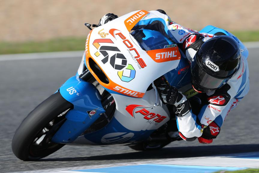 Fabio Quartararo, Pons Hp40, Jerez Moto2™ - Moto3™ Official Test
