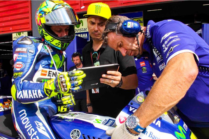 Valentino Rossi, Timming Pass