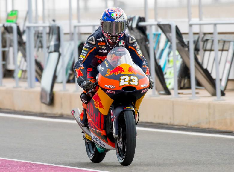 Niccolo Antonelli, Red Bull Ktm Ajo, Qatar Moto2™ - Moto3™ Official Test