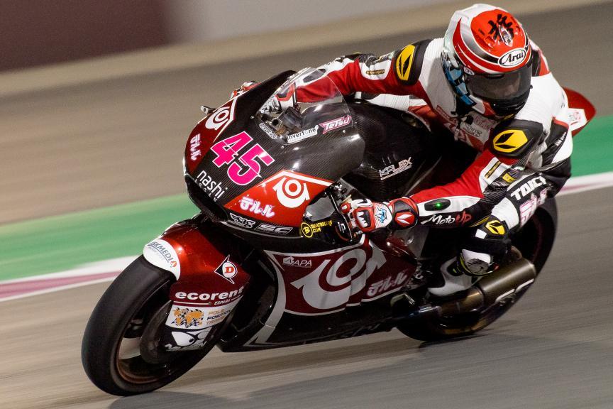 Tetsuta Nagashima, Teluru Sag Team, Qatar Moto2™ - Moto3™ Official Test