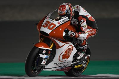 Nakagami fastest as the sun sets on Day 2
