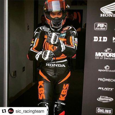 #Repost @sic_racingteam with @repostapp ・・・ @adamnorrodin07 means business! #QatarTest #sicracingteam #moto3 #adamnorrodin #kbsmalaysia