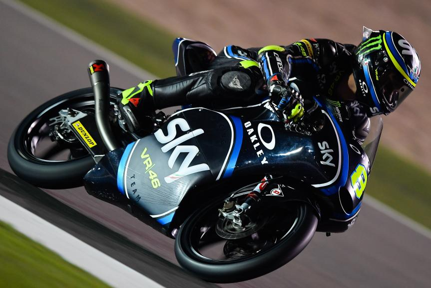 Nicolo Bulega, Sky Racing Team Vr46, Qatar Moto2™ - Moto3™ Official Test