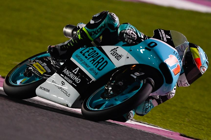 Livio Loi, Leopard Racing, Qatar Moto2™ - Moto3™ Official Test