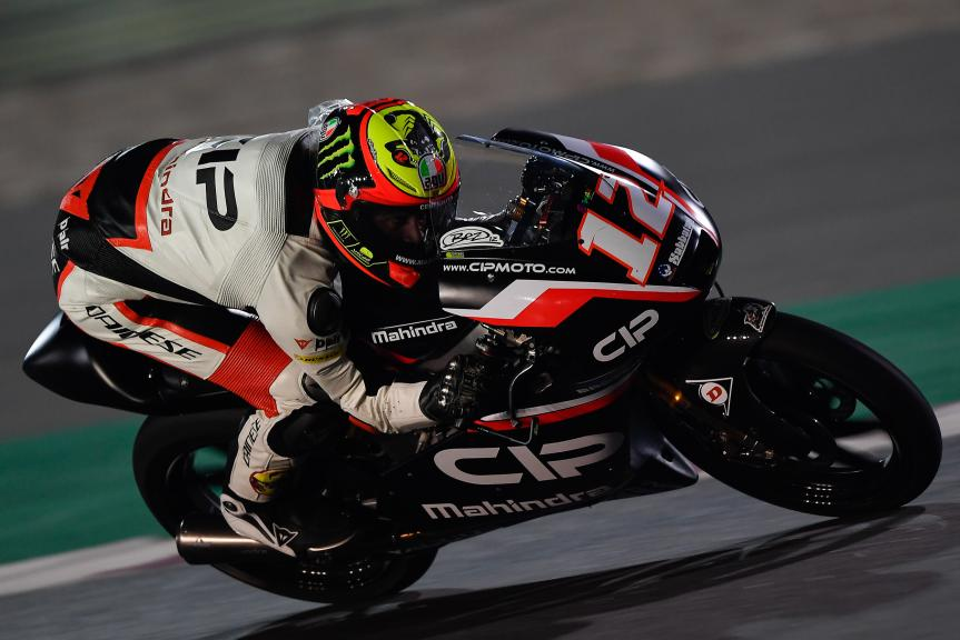 Marco Bezzecchi, Cip, Qatar Moto2™ - Moto3™ Official Test