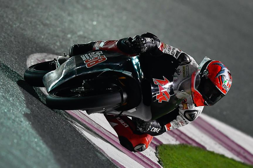 Tony Arbolino, Sic58 Squadra Corse, Qatar Moto2™ - Moto3™ Official Test