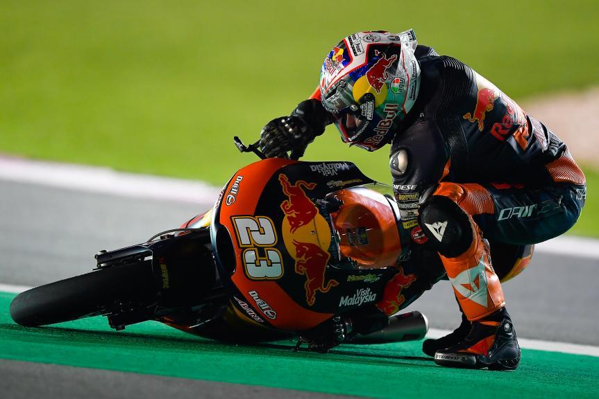 Niccolo Antonelli, Red Bull Ktm Ajo, Qatar Moto2™ - Moto3™ Official Test