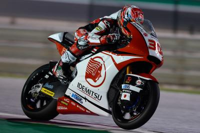 Moto2™ preseason finishes with Nakagami out front