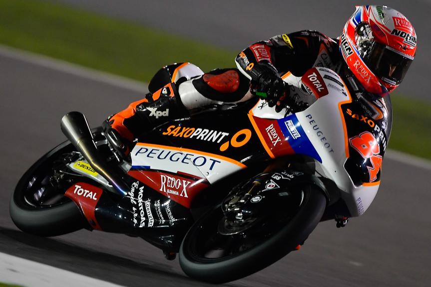 Jakub Kornfeil, Peugeot Mc Saxoprint, Qatar Moto2™ - Moto3™ Official Test