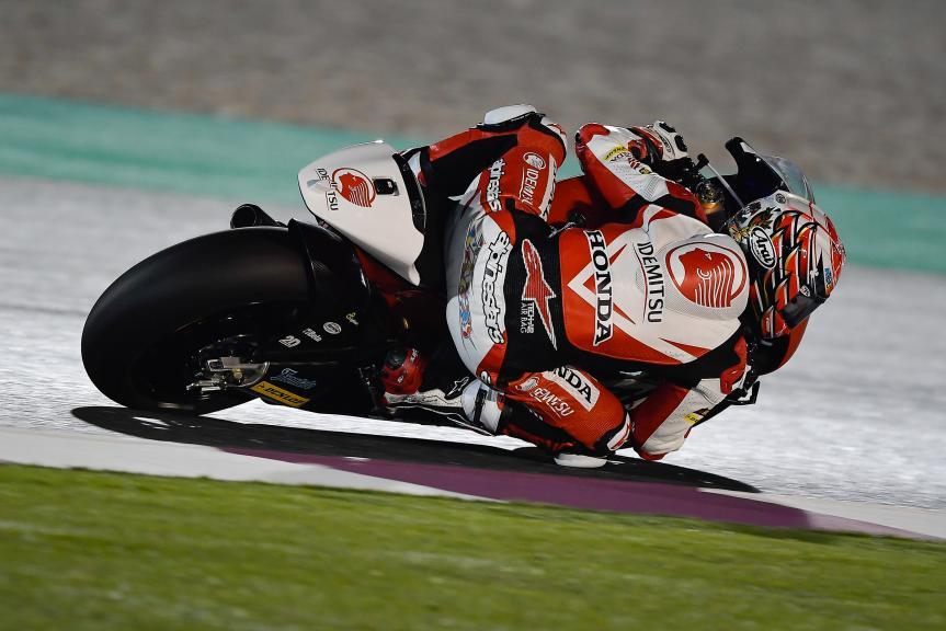 Takaaki Nakagami, Idemitsu Honda Team Asia, Qatar Moto2™ - Moto3™ Official Test