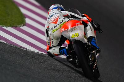 Moto3™ gear up to storm the desert