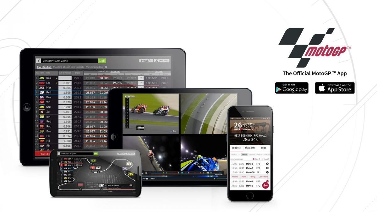 Follow the #ArgentinaGP with the Official MotoGP™ App | MotoGP™